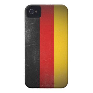 Germany Grunge- Die Bundesflagge Case-Mate iPhone 4 Case