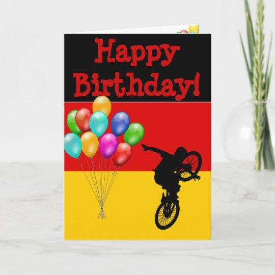 GERMANY HAPPY BIRTHDAY CARD