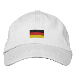 Germany hat - German flag Embroidered Baseball Caps