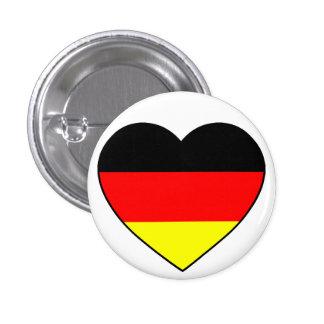Germany heart football Germany Pinback Button