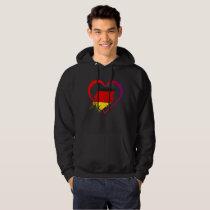 Germany heart hoodie