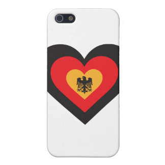 Germany Heart iPhone SE/5/5s Case