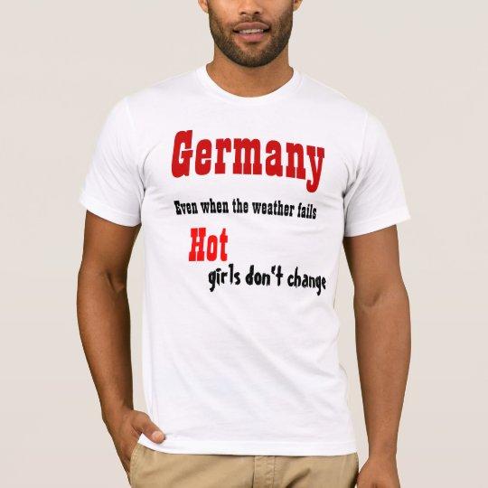 Germany hot girls t-shirts