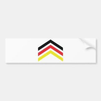 Germany icon bumper sticker