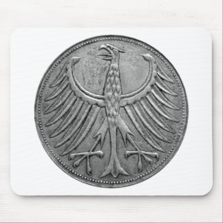Germany Imperial Eagle Tshirt Mouse Pad