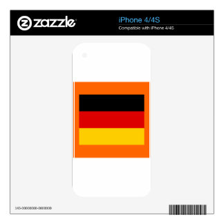 GERMANY iPhone 4 DECAL