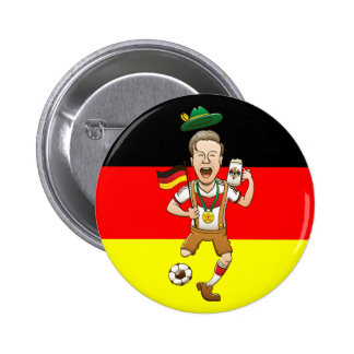 Germany is Four-time Soccer Champion Buttons