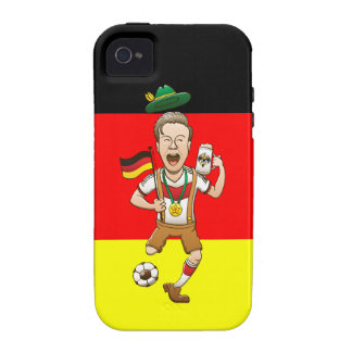 Germany is Four-time Soccer Champion Case-Mate iPhone 4 Covers