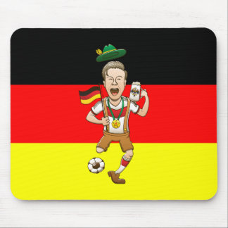 Germany is Four-time Soccer Champion Mouse Pad