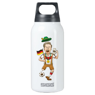 Germany is Four-time Soccer Champion 10 Oz Insulated SIGG Thermos Water Bottle