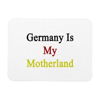 Germany Is My Motherland Rectangular Photo Magnet