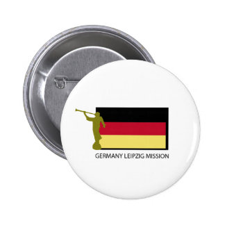 GERMANY LEIPZIG MISSION LDS CTR PINBACK BUTTONS
