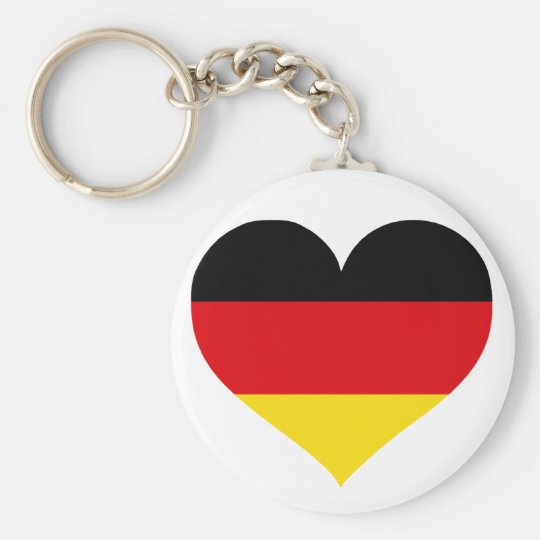 Germany Love Keychain