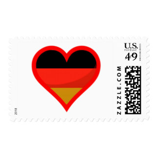 Germany Love Postage Stamps