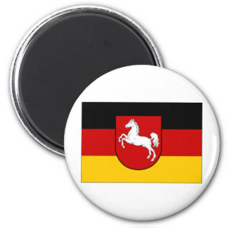 Germany Lower Saxony Civil flag Magnet