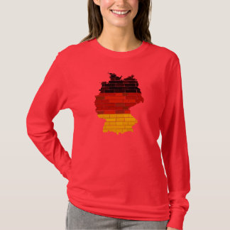 Germany map and flag T-Shirt