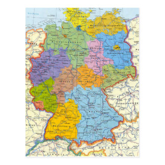 Germany map card 3