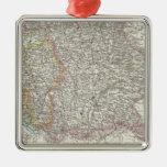Germany Map Christmas Tree Ornaments