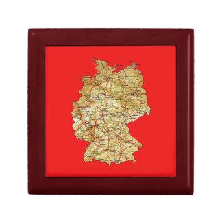 Germany Map Gift Box