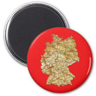 Germany Map Magnet