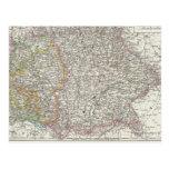 Germany Map Postcards