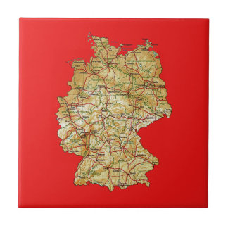 Germany Map Tile