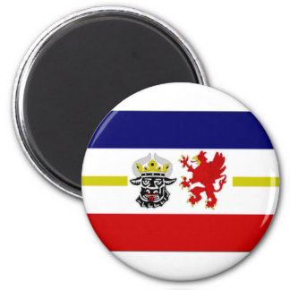 Germany Mecklenburg Flag Alternate Magnet
