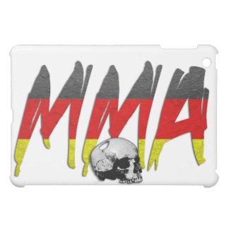Germany MMA Skull White iPad Case