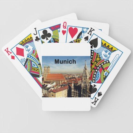 Germany Munich (St.K) Bicycle Poker Deck