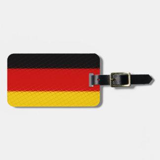 Germany National Flag Luggage Tag