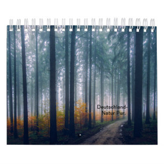 Germany nature pure calendar
