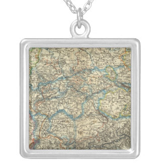 Germany Netherlands Belgium Silver Plated Necklace