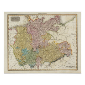 Germany north of the Mayan Print