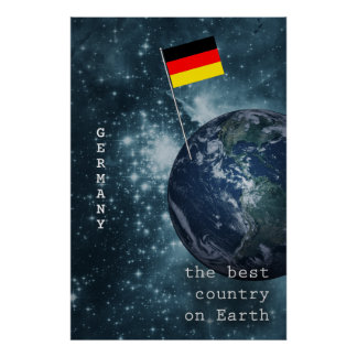 Germany Out Of This World Poster