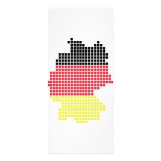 germany pixel flag custom rack cards