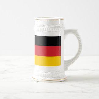 Germany Plain Flag Beer Stein