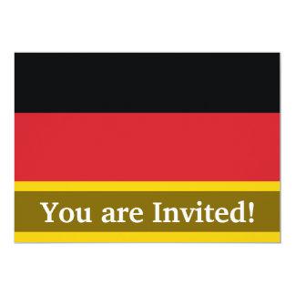 Germany Plain Flag Card