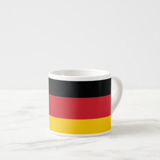 Germany Plain Flag Espresso Cup