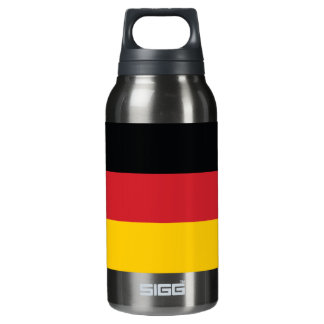 Germany Plain Flag Insulated Water Bottle