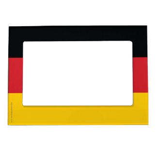 Germany Plain Flag Magnetic Photo Frame
