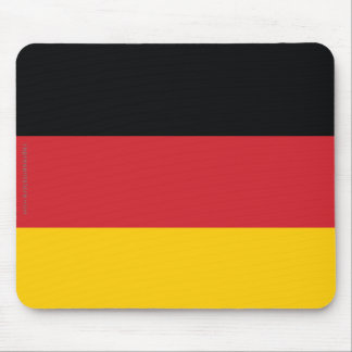 Germany Plain Flag Mouse Pad