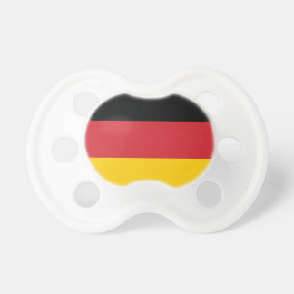 Germany Plain Flag Pacifier
