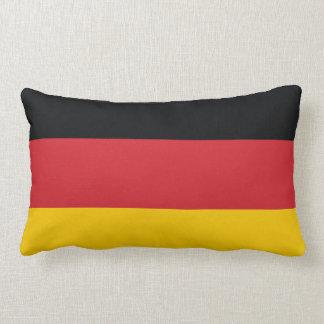 Germany Plain Flag Throw Pillows