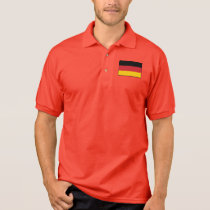 Germany Plain Flag Polo Shirt