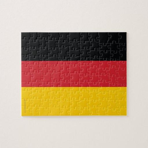 Germany Plain Flag Puzzle
