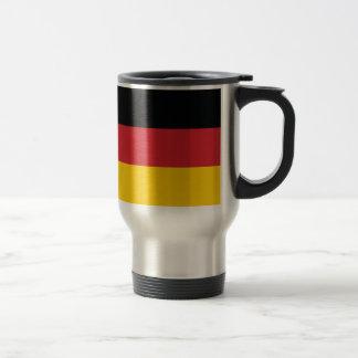 Germany Plain Flag Travel Mug