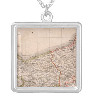 Germany, Poland 2 Silver Plated Necklace