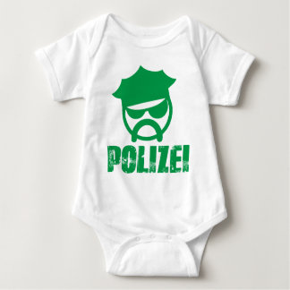 Germany police baby bodysuit