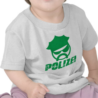 Germany police t shirt