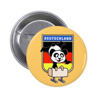 Germany Pommel Horse Panda Pin